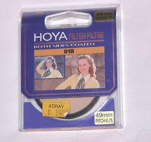 62mm Hoya 81B Warm Glass Lens filter 81 B Japan Coated Color Conversion Round