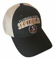 Florida State Seminoles Snapback Hat Adjustable Mesh Trucker Cap