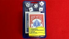 Bicycle 2 Decks Standard Poker and 5 Dice Set   Collectable Playing Cards
