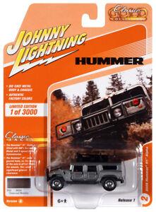 2021 Johnny Lightning *CLASSIC GOLD 1A* Charcoal 2006 Hummer H1 Alpha NIP