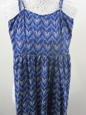 H&M ladies top. Size 8. Blue with red and white. From the Divded range.