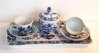 Servizio da caffe' in porcellana - Bavaria - Blue Danube Japan - usato
