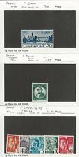 Germany, Postage Stamp, #5N41-2, 5N28-30, 33, 39 Mint, Baden, JFZ