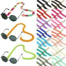 Fashion Acrylic Glass Chain Sunglasses Strap Lanyard Neck Eyeglass Cord Holder