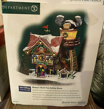 Dept 56 Mickey's North Pole Holiday House #56759 Very Good Condition