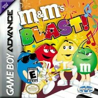 M&Ms Blast - Nintendo Game Boy Advance