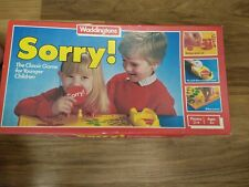 Sorry Board Game by Waddingtons. Complete boxed. c 1980