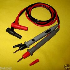 Multimeter Replacement Test Lead Probes Digital Multi Meter Voltage Probe Cables
