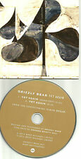 GRIZZLY BEAR Yet Again w/ RARE RADIO EDIT UK Made SLEEVE PROMO DJ CD single 2012