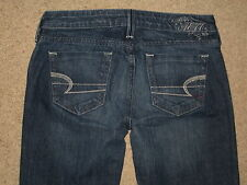 American Eagle Size 0 Reg True Boot Stretch Low Rise Womens Jeans