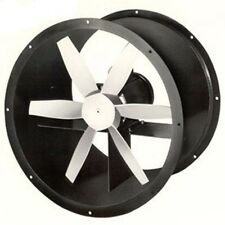 "12"" Explosion Proof Tube Axial Exhaust Fan 4 Blades - 3 PH 1/4 HP - 230/460 Volt"