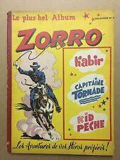 ZORRO Hebdomadaire - Reliure numéro 9 (du 190 au 210) - 1950 - TBE