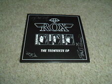 ROX - THE TEENTEEZE EP - 3 TRACK CD - SIGNED BY THE BAND - STARZ / KISS / ANGEL
