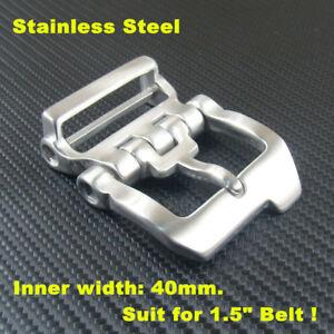 """Heavy Duty Stainless Steel Men's Belt Buckles for 1.5"""" Belt / Belt Pin Buckle"""