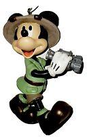 Disney world park 2015 water globe magnet clip sorcerer mickey ice cream dated