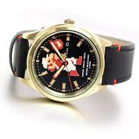 SEIKO Watch ACCA701 ALBA Super Mario Automatic Men's Type Brown Band Black