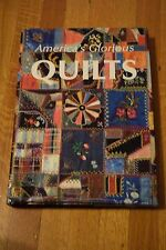 America's Glorious Quilts Oversized Harcover Book Quilting Traditions Folklore