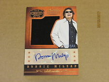 2015 Country Music Silhouette Signature Materials #18 Ronnie Milsap SN 182/344