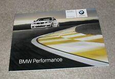 BMW Performance Accessories Brochure 2008 - 1 & 3 Series