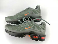 Nike Air Max Plus TN Tuned Orange Olive Black Size Youth 5 Women 6.5 AO5435-001