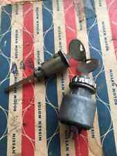 DATSUN 410 411 BLUEBIRD Ignition Switch trunk lid lock Genuine Parts NOS JAPAN