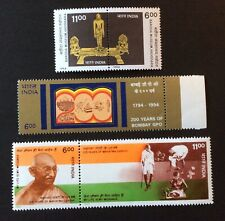 India 1994. Three Pairs Of Stamps  (MNH)