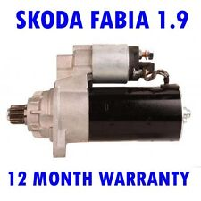 Skoda fabia 1.9 TDI hatchback 2003 2004 2005 2006 - 2008 starter motor