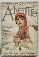 Scarce Antique Jan, 1916 Adventure Literary Pulp Magazine S.A. White Full Novel