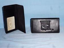 New York NY RANGERS  Leather Checkbook  NEW   black +