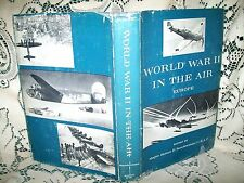 WORLD WAR II IN AIR EUROPE by J SUNDERMAN USAF HC/DJ 1963 1st ED FIGHTERS BOMBER