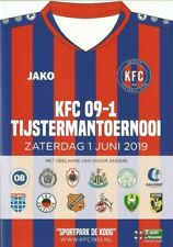 KFC TIJSTERMAN TOERNOOI 2019  Incl CELTIC  NEWCASTLE UNITED and others