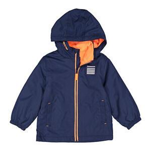 Carter's Boys Boys Navy & Orange Mid-Weight Fleece Lined Jacket Size 4 5/6 7
