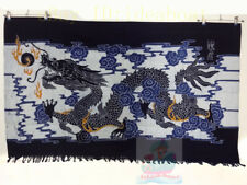 Folk Handmade Decor Wall Hanging Batik Tapestry - Dragon(Chinese Loong) 85x138cm