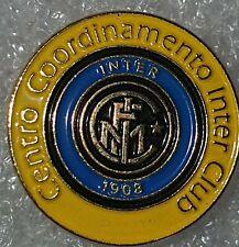 Distintivo calcio INTER badge INTERNAZIONALE MILANO no piedino UFFICIALE Timbro