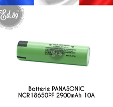 Panasonic NCR18650PF – 2900 mAh mit Lötfahne 3 7v