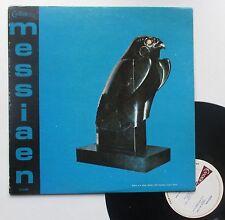 """Vinyle 33T Olivier Messiaen """"Oiseaux exotiques:La bouscarle: reveil des oiseaux"""""""