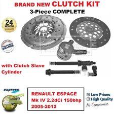 Pour Renault Espace Mk IV 2.2dCi 150bhp 2005-2012 Tout Neuf 3-PC Clutch Kit +