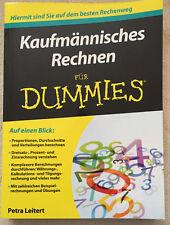 Kaufmännisches Rechnen für DUMMIES, 1.Auflage 2014 Wiley