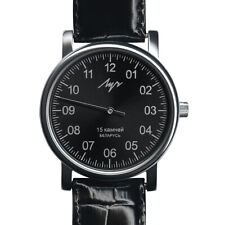 One Hand Luch Mechanical Wristwatch Men Casual Black + Free Nato Strap. 37471763
