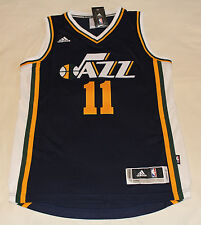 Utah Jazz NBA Adidas Authentic Swingman Basketball Jersey EXUM #11 Size S New