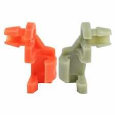 Gmc & Chevy Tailgate Latch Rod Retainer Clips R&L 1-Pair 1999-2009 Oem-4