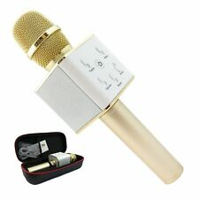 Pro 2 en 1 Bluetooth Inalámbrico Micrófono Altavoz de alta fidelidad DORADO