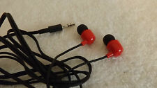UNIVERSAL SKULLCANDY IN EAR SUPREME SOUND JIB EARPHONE HEADPHONE - RED