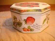 Hallmark Marjolein Bastin Decorative Fruit Pattern Tin With Potpourri