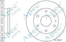 Genuine OE Quality Apec Front Vented Brake Disc /& Pad Set DSK2090 /& PAD1068