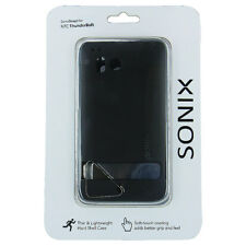 Sonix Black Snap-On Hard Case Cover for HTC ThunderBolt 4G 6400