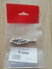 Pack Of 5 X 5 amp fuses