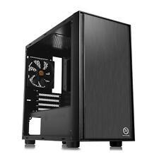 Thermaltake Versa H17 Mini Tower Micro ATX Gaming Computer PC Case with Window
