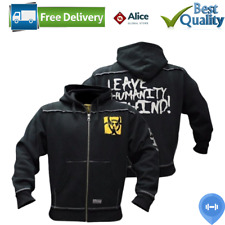 Mutant Men's Hoodie Bodybuilding Gym Workout Training Hooded Pullover New Black
