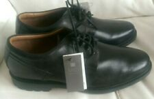M&S COLLECTION BLACK LEATHER MENS LACE UP SHOES SIZE UK 13
